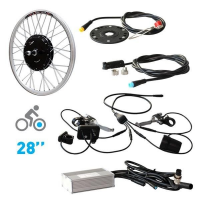 E-bike conversion kit - EVBike 36V/500W Front 28""