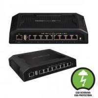 UBIQUITI TOUGHSwitch PoE Pro 8x Gbit LAN, nastavitelný 24V/48V PoE switch